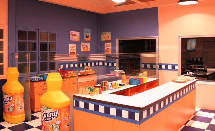 Sunny Diner House en Micropolix