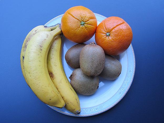 Sólo con estos tres tipos de frutas tendrás un plato muy divertido